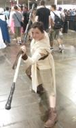 Rey ready to kick butt!