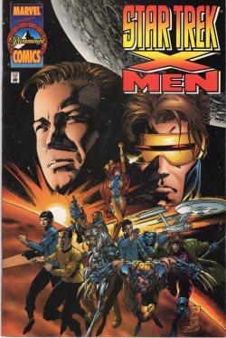 Star Trek X Men cover