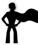 Superhero with Cape