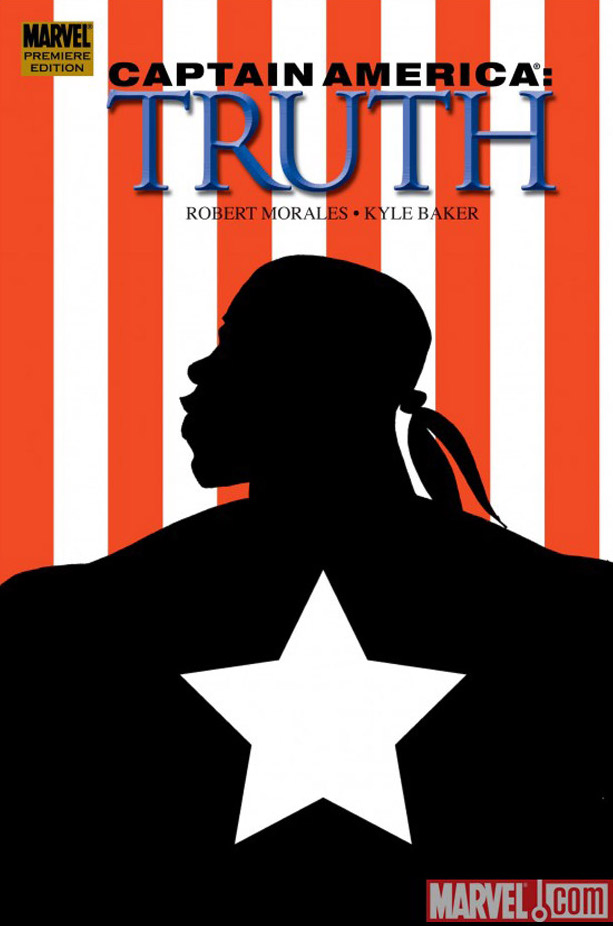 Captain America Truth cover