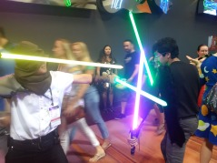 Jedi battle!!