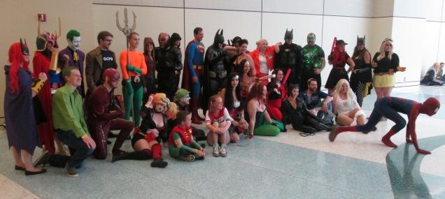 DCU Unites against Spidey!!