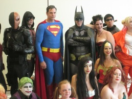 The Trinity! Superman and Batman and Wonder Woman!!