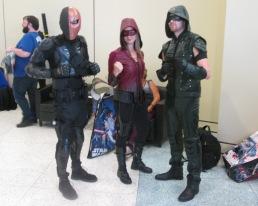 Deathstroke versus Speedy and Green Arrow!!