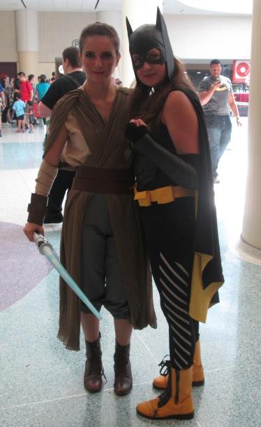 Rey and Batgirl!
