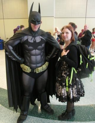 Batman and friend!