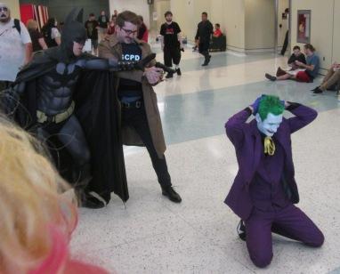 Batman stops Gordon from killing Joker!