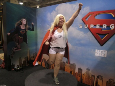 @magnetictrifles as Supergirl by way of Harley!