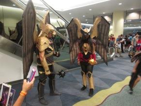 Hawkman and Hawkwoman!!