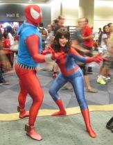 Spiderman meets Spiderwoman!