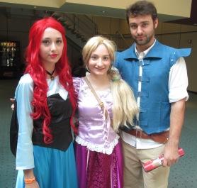 Disney Princesses and a Prince!!