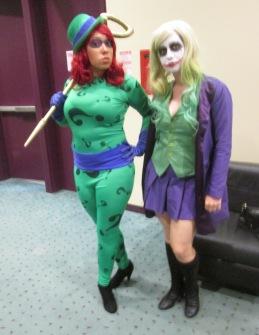 Riddler and Joker!!