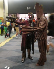 Starlord and Groot!