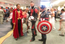 Dr Strange and Ant Man and Captain America!!!