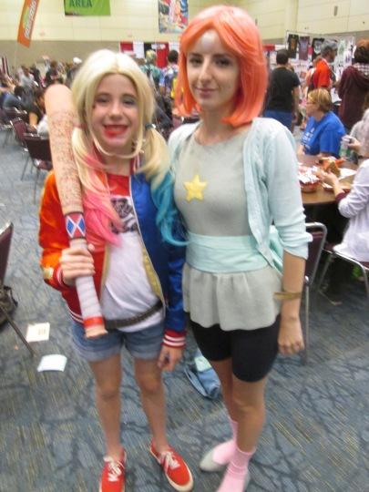 Harley Quinn meets Pearl!!