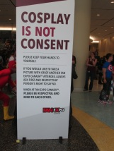 Cosplay Is Not Consent!
